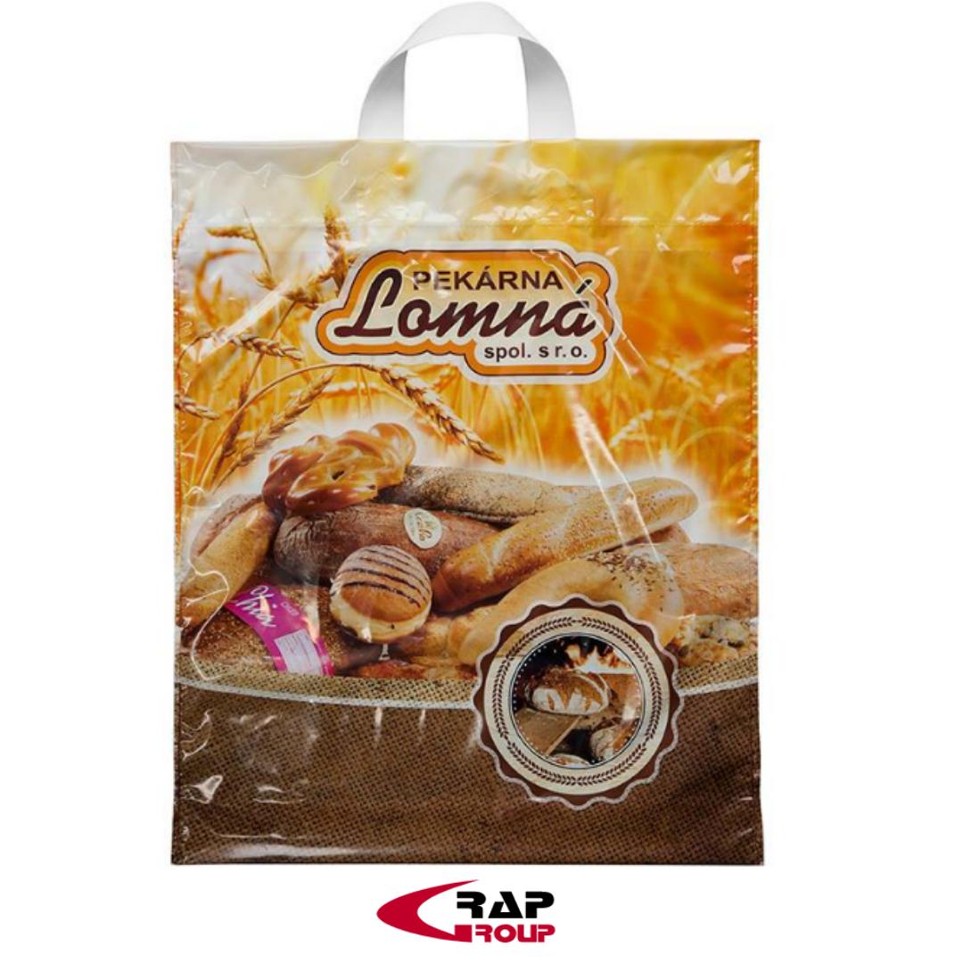 Reklamní tašky pro pekárnu